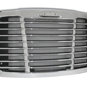 2008-2017 Freightliner Cascadia Chrome Grille W/ Bug Screen