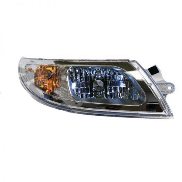International 4200, 4300, 4400, 7400, 7500, 8500, 8600 Headlight Assembly  W/ Sidemarker