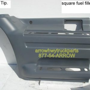 International 9400, 9200, & 9100 Fuel Tank Cover: 1997 to 1999 - Left