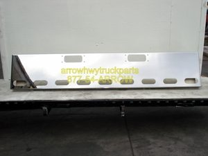 """Peterbilt 359, 352 Bumper : Chrome 18"""" Boxed End"""