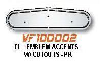 Freightliner Hood Accessory: Emblem Accents