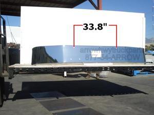 Peterbilt 377 Set Forward Axle '91 - Up Bumper: No Fog Light Holes