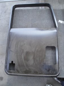 Kenworth Door Shell: Right Side w/ Vent Window Hole