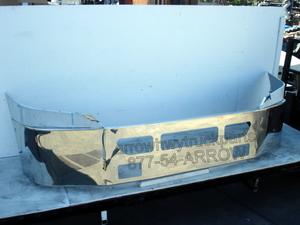 Freightliner Cascadia Bumper: 2008-2013 w/ Vent Holes, & Square Fog Light Holes