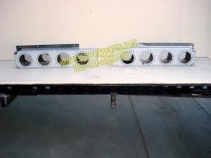 Light Bar ヨ Polished Stainless Steel Rear Light Bar Halves
