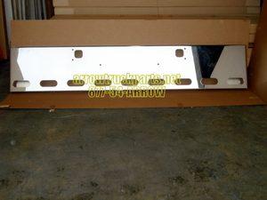 """Kenworth W900b / W900l New Aftermarket Chrome Steel Bumper """"Box"""" End"""