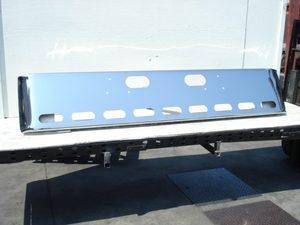 "Ford L9000, Sterling LT9511 & LT8511 bumper: chrome ""Show truck"""