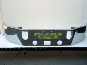 Mack CXN & CXP613 SBA Bumper: Chrome W/ Fog Light Holes