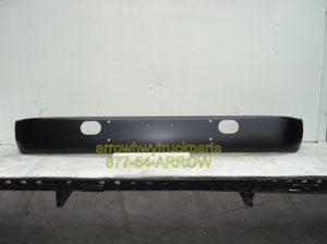 "International S1600, S1700, S1900, S2100, & S2300 ""Powder Coated"" Black Steel Bumper."