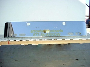 "Kenworth W900A Bumper: ""Rolled End Custom"" W/ Step, Tow Hitch, & 4 Oval Light Holes"