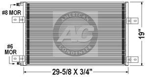 Mack CX / Vision 01-07 A/C Condenser