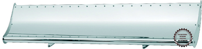 Freightliner, International, Peterbilt, except KW, and Universal Hood Accessory: Hood wing - power style - universal
