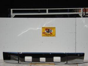 Freightliner FL60, FL70, & FL80 Chrome Steel 3 Piece Bumper w/ short ends