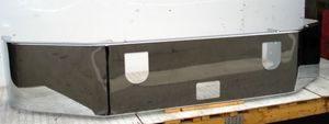 Mack Vision CX613 Bumper - Chrome Steel no fog light holes
