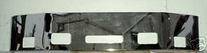 "Peterbilt 387 Bumper - '02-UP Chrome 16"" w/ fog light holes"