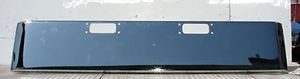"Peterbilt 359 / 352 Bumper: Chrome Steel 18"" Texas W/ Tow Hitch Holes"