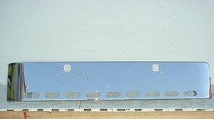 "Kenworth W900B & W900L Bumper: Chrome Steel 18"" for Show Truck"