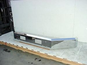 Ford Aeromax LTA, LTLA, LTS8000 / 9000 Bumper: Chrome