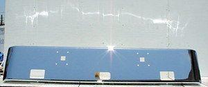 International / Navistar 9900i Chrome Steel Bumper Fits '98-99