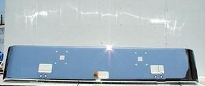International / Navistar 9900ix Chrome Steel Bumper Fits '00 and Newer