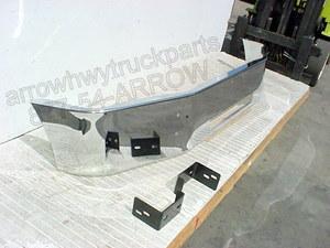 Peterbilt 335 Bumper: Chrome Steel