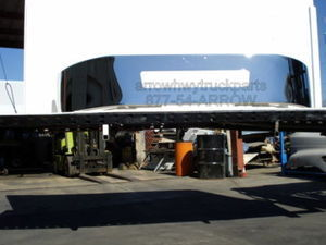 FREIGHTLINER M2 NEW 1 PIECE AFTERMARKET CHROME BUMPER