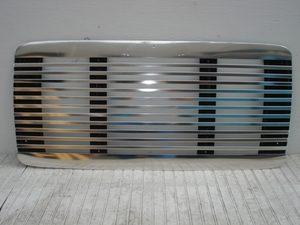 Freightliner FL 60 / 70 Grille: Polished Aluminum. Also fits FL112