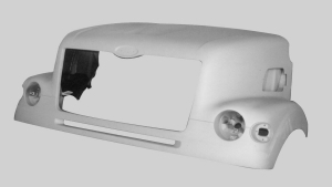 Sterling Lt7501 Round Headlight New Aftermarket Hood.
