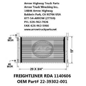 Freightliner 92-99 A/C Condenser