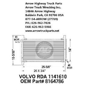 Volvo 94-00 A/C Condenser