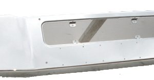 Freightliner Coronado Bumper: Redesigned - Chrome Steel - Fits '02-'09