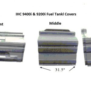 International 9400i, 9200i, & 9100i Fuel Tank Cover: 2000 & up