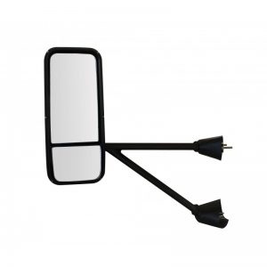 Kenworth T600 Mirror Assembly With Chromed Plastic Cover - Left