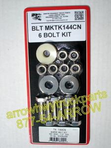 7-BUMPER BOLT KIT - STAINLESS STEELblt_mktk143cn