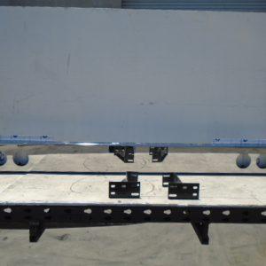 "Light Bar: Polished 8"" W/ Six 4"" Holes MAXXXX-80-R6C"