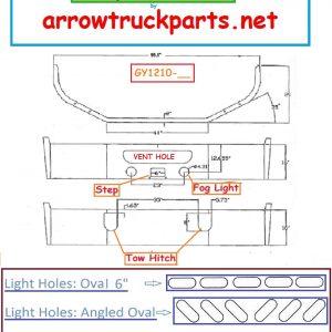 Mack Pinnacle CXU Bumper