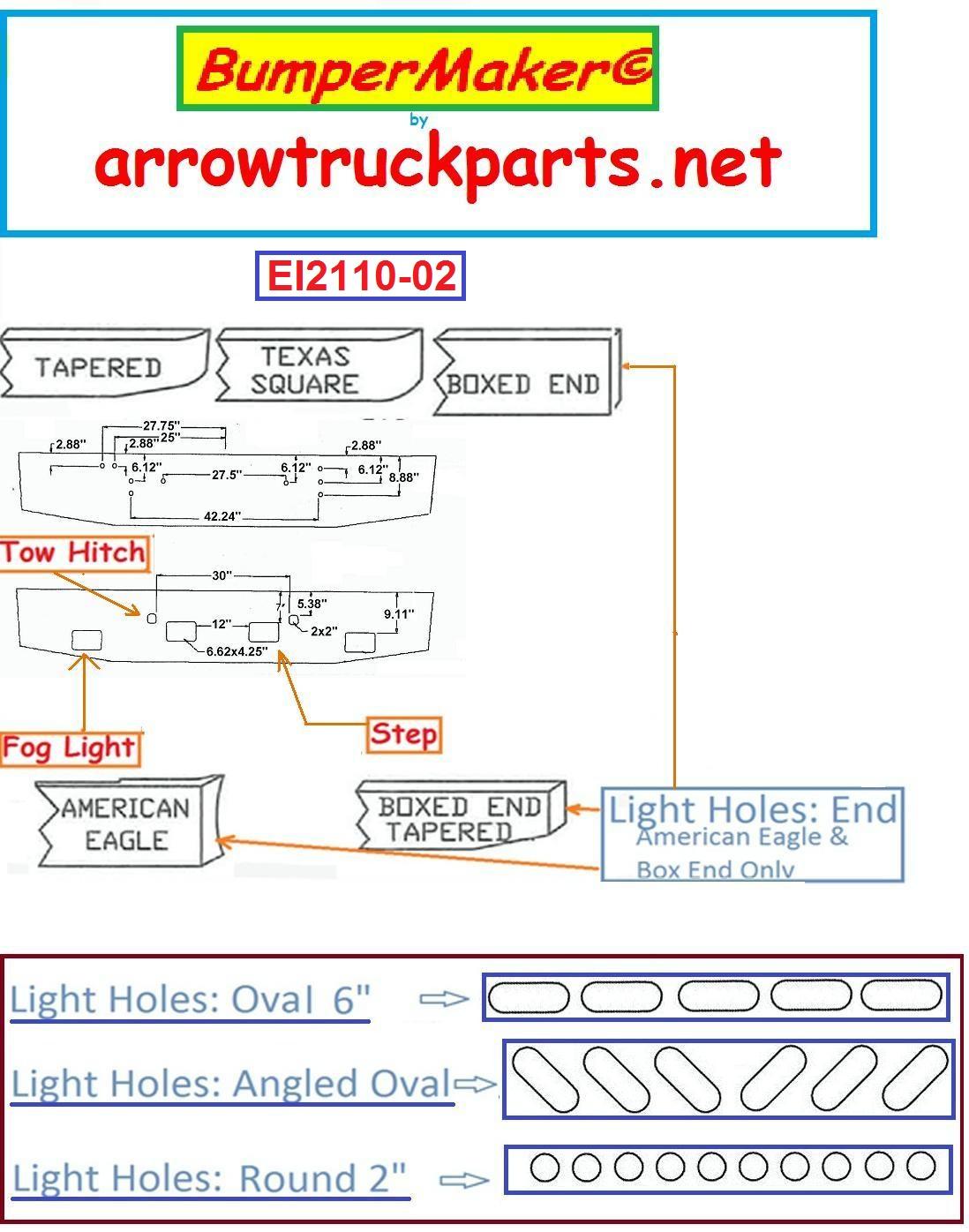 Bumpermaker International 9370 9300 Sfa 9670 Bumper Truck Wiring Diagram 1984 S2300