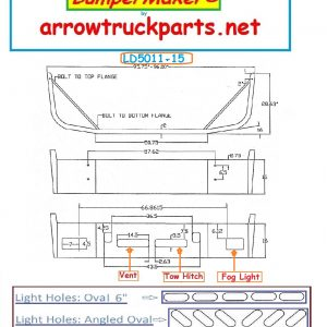 BumperMaker: Volvo VNM 1998 To 2003 (LD)