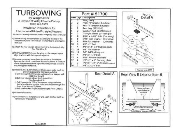 700 Series Turbowing