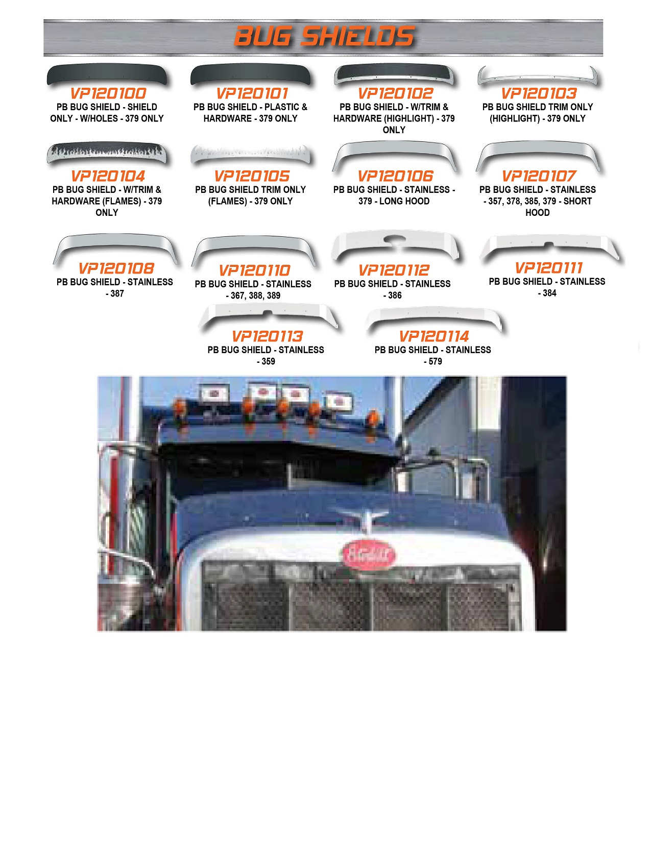 Bumpermaker Peterbilt Bumper| Arrow Highway Truck Parts