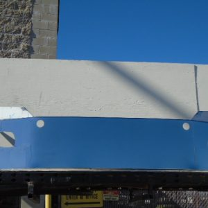 """Freightliner Cascadia Bumper: 2012 And Up 16"""" W/ Factory Fog Light Holes Holes-Replaces Factory Stainless Steel.-0"""