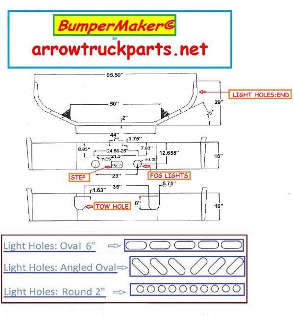 Mack CXN Bumper GW1210-16