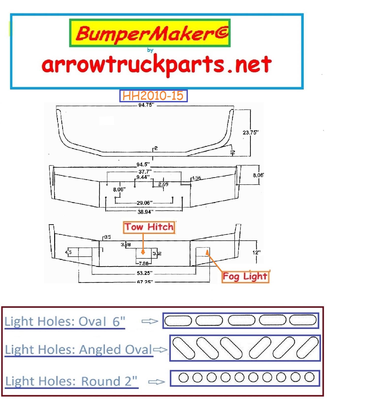 Bumpermaker  Peterbilt 377 Set Back Axle 1987 To 1996
