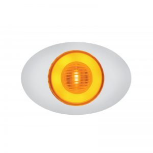 "M3: Amber LED & Amber Lens, 5 LED, 4 1/8"" x 1 3/8"" x 5/8"""