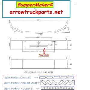 Peterbilt 337 Bumper