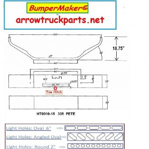 Peterbilt 335 Bumper