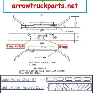 Freightliner FL112 Bumper: 1 Piece