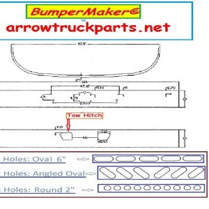 BumperMaker: Sterling AT9500 & AT9513 2008 To 2011: Replaces OEM Chrome Or Painted Bumper