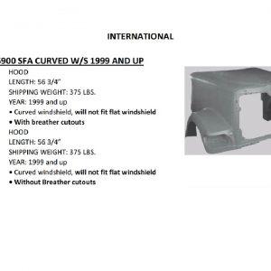 International / Navistar 5900i Hood: Redesigned