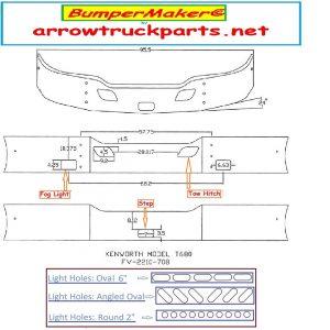BumperMaker: Kenworth T680 Bumper